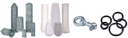 GAF Filter Accessories and Spare Parts